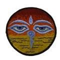 Écusson symboles bouddhistes