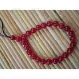 Bracelet mala agathe rubis
