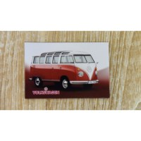 Aimant combi Volkswagen rouge