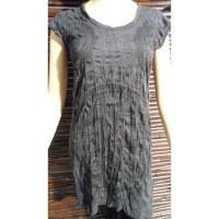 Mini robe grise Aum