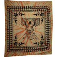 Maxi tenture Bouddha Bhaishavaguru jaune