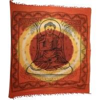 Maxi tenture Bouddha sous l'arbre Bodhi bandhani