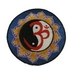 Ecusson brodé Om yin yang
