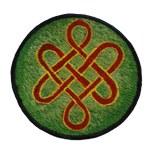 Patch noeud infini tibétain