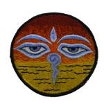Ecusson oeil de Bouddha