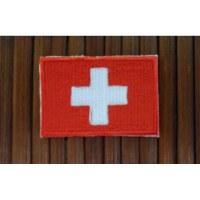 Ecusson drapeau suisse