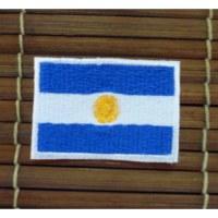Ecusson drapeau de l'Argentine