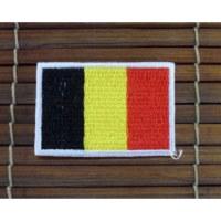 Ecusson drapeau belge