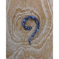 Dilatateur 6 serpent bleu