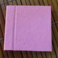 Mini carnet rose