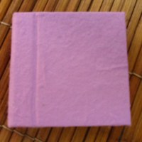 Mini carnet rose fuschia