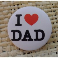 Badge I love dad