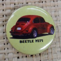 Badge coccinelle 1971