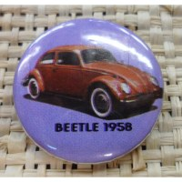 Badge coccinelle 1958