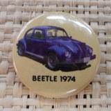 Badge Beetle 1974