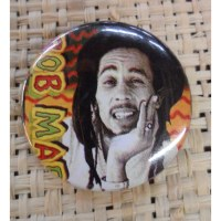 Badge 2 Bob Marley