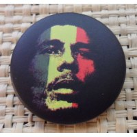 Badge 5  Bob Marley