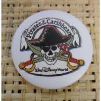 Badge pirate des caraïbes