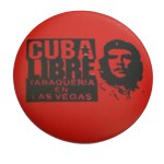 Badge Che Guevara Cuba libre
