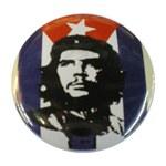 Badge Che Guevara Drapeau Cubain