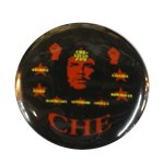 Badge Che Guevara étoiles rouges