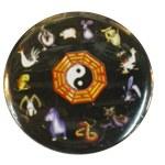 Badge Yin Yang signes astro