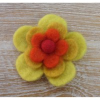 Broche filetro tournesol