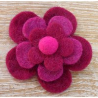 Broche filetro grenadine