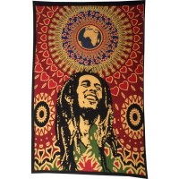 Tenture Afrika Bob Marley