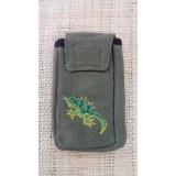 Pochette portable salamandre
