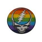 Ecusson rainbow crâne GM