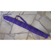 Housse 150 didgeridoo rayée quetsche