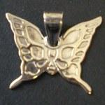 Pendentif grand papillon