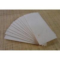 Papier à lettre et 10 enveloppes longues écru