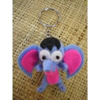Porte clés éléphant big ear