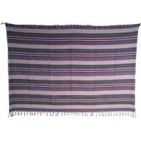 Tenture couverture Kérala lilas