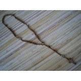 Chapelet macramé et perles en bois
