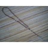 Chapelet marron perles nacrées