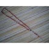 Chapelet rouge perles nacrées
