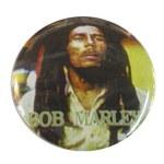 Badge Bob Marley Tête haute