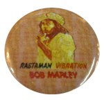 Badge Bob Marley Rastaman Vibration