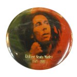 Badge Robert Nesta Marley 1945-1981