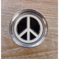 Grinder métal peace and love