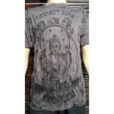 Tee shirt M marron Bouddha