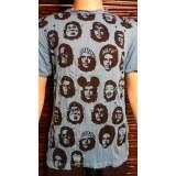 Tee shirt M bleu Che Guevara