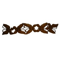 Fresque quintet de papillons