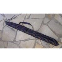 Housse 150 didgeridoo rayée cassis