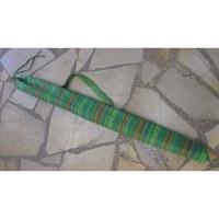 Housse 150 didgeridoo rayée pomme