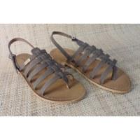 Sandales Tropéziennes Hook marron