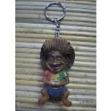 Porte clés jamaïcain assis